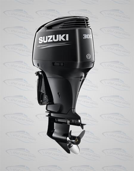 موتورقایق سوزوکی 300 چهارزمانه ریموت کنترل دار