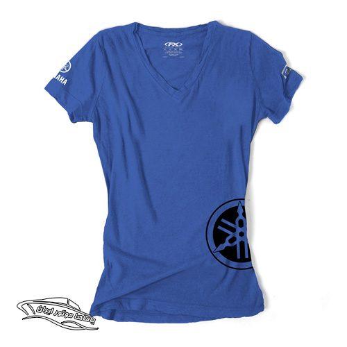 تی شرت royal blue یاماها