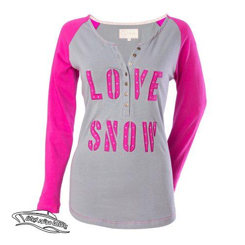 تی شرت Snow Henley یاماها