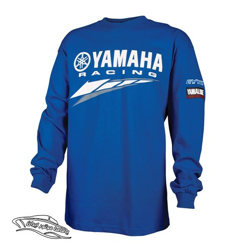 تی شرت آستین بلند yamaha racing