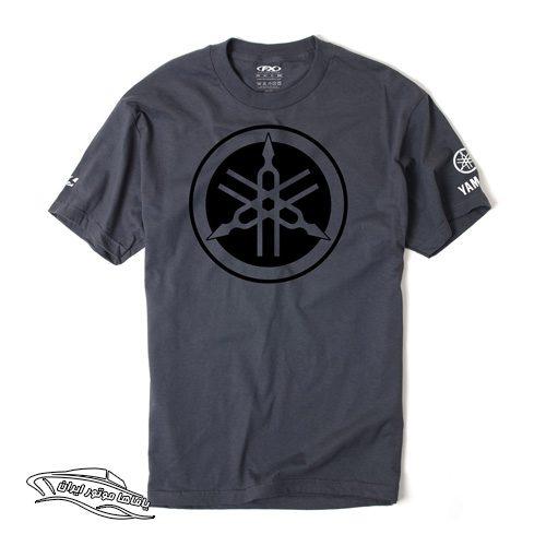 تی شرت طرح سه نیزه یاماها