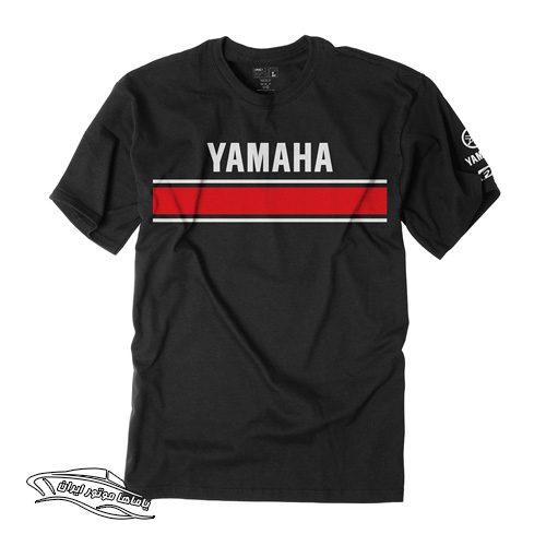 تی شرت طرح retro یاماها