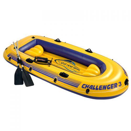 قایق بادی اینتکس challenger 3