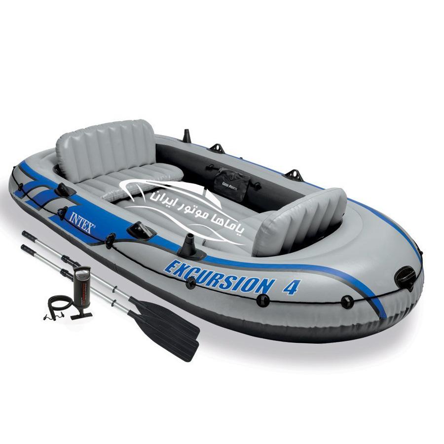 قایق بادی اینتکس excursion 4