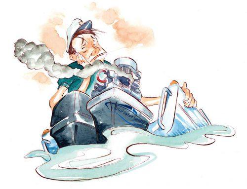 وقتی در قایق های چند موتوره یکی از موتور ها خراب شود، چکار کنیم؟